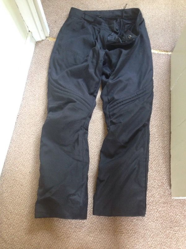 Motorbike Weather Proof Trousers size 18.
