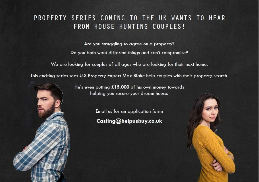 PROPERTY SHOW LOOKING FOR HOUSE HUNTING COUPLES IN NOTTINGHAM