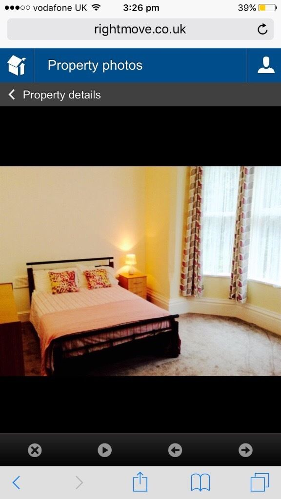 Double room to rent at 105 Waterloo crescent, Nottingham, share with 7 students, 110pw bills inc