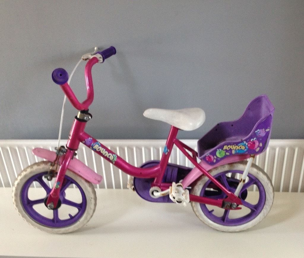 Girls First Bounce Bike