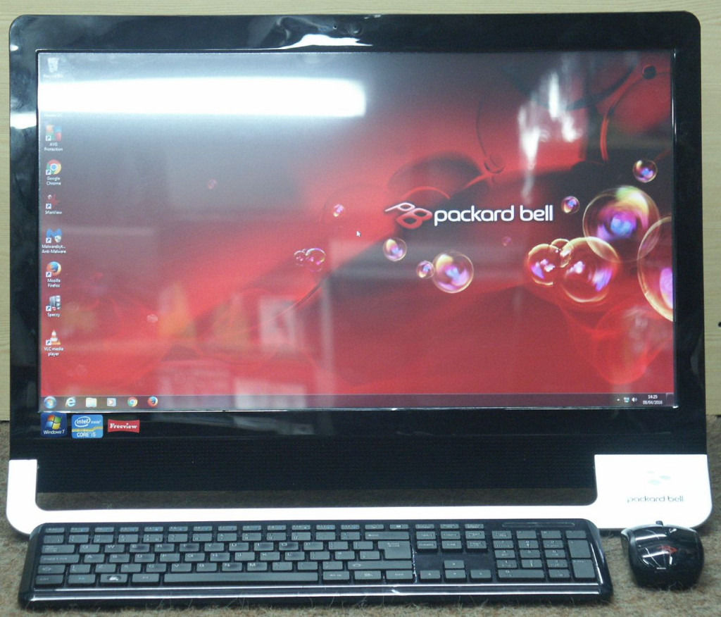 Packard Bell Touch Screen PC Computer Intel i5 6Ghz 8GB DDR3 RAM 1TB HDD WiFi Win 7 Freeview