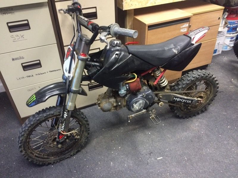 Demon X 125cc swap for ps4, Xbox one or cash my way
