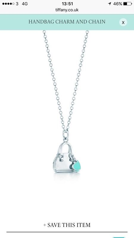 Genuine Tiffany Charm | Handbag