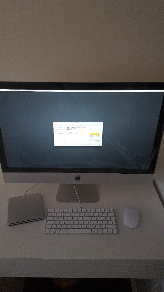 Apple iMac 27 5K Retina Late 2015 Brand New Unboxed Intel Core i5 8GB 3.2GHZ 1TB Hard Drive
