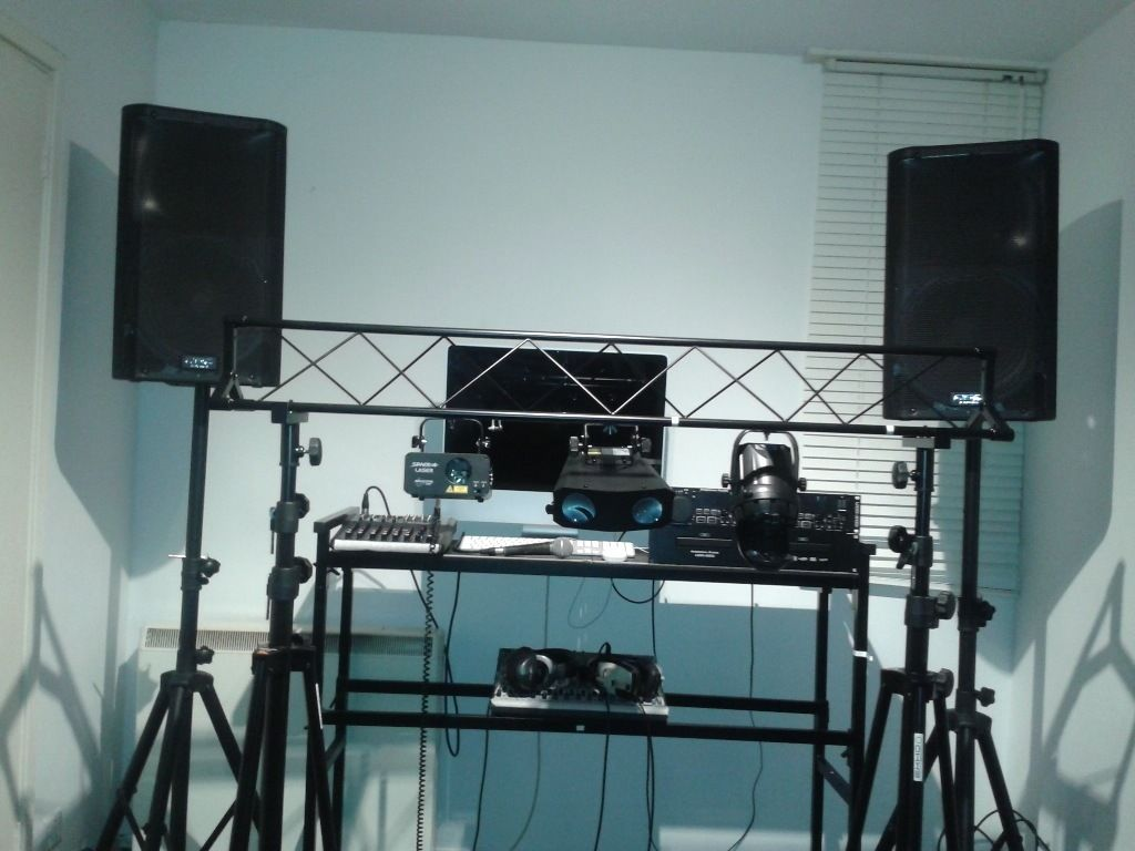 Professional PA system for Hire (Full Dj set)