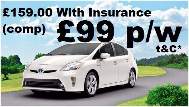 TOYOTA PRIUS HIRE, PCO, UBER READY, CHEAP TOYOTA PRIUS WITH INSURANCE, PCO RENT TOYOTA