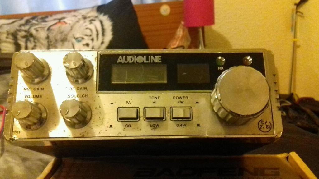 Audioline 341 cb radio