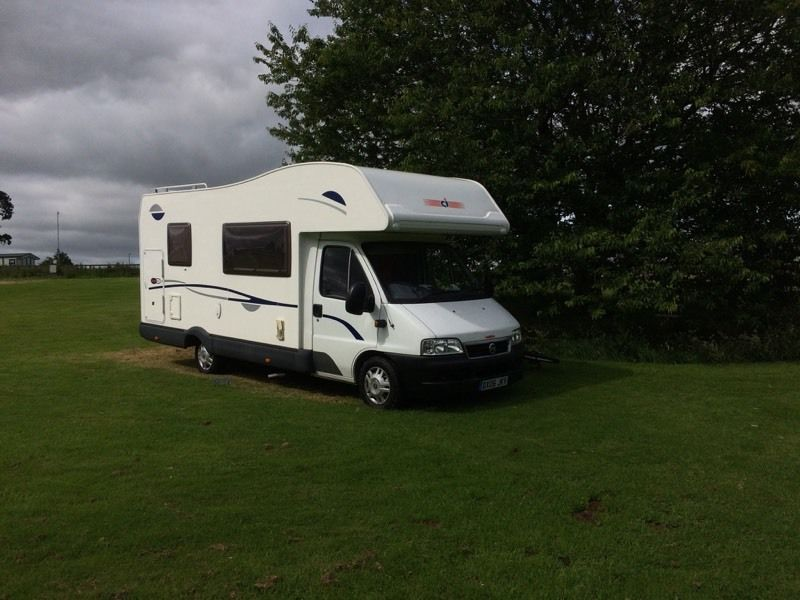 6 berth motorhome for hire