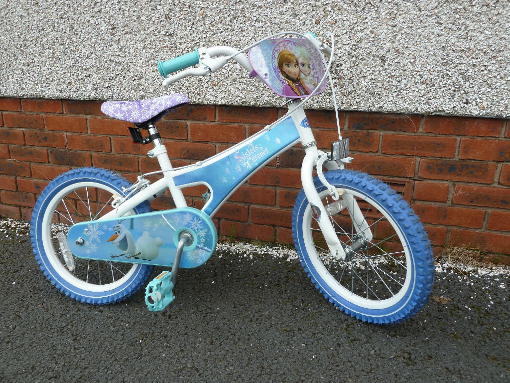 "Kids 16"" Disney Frozen Bike"