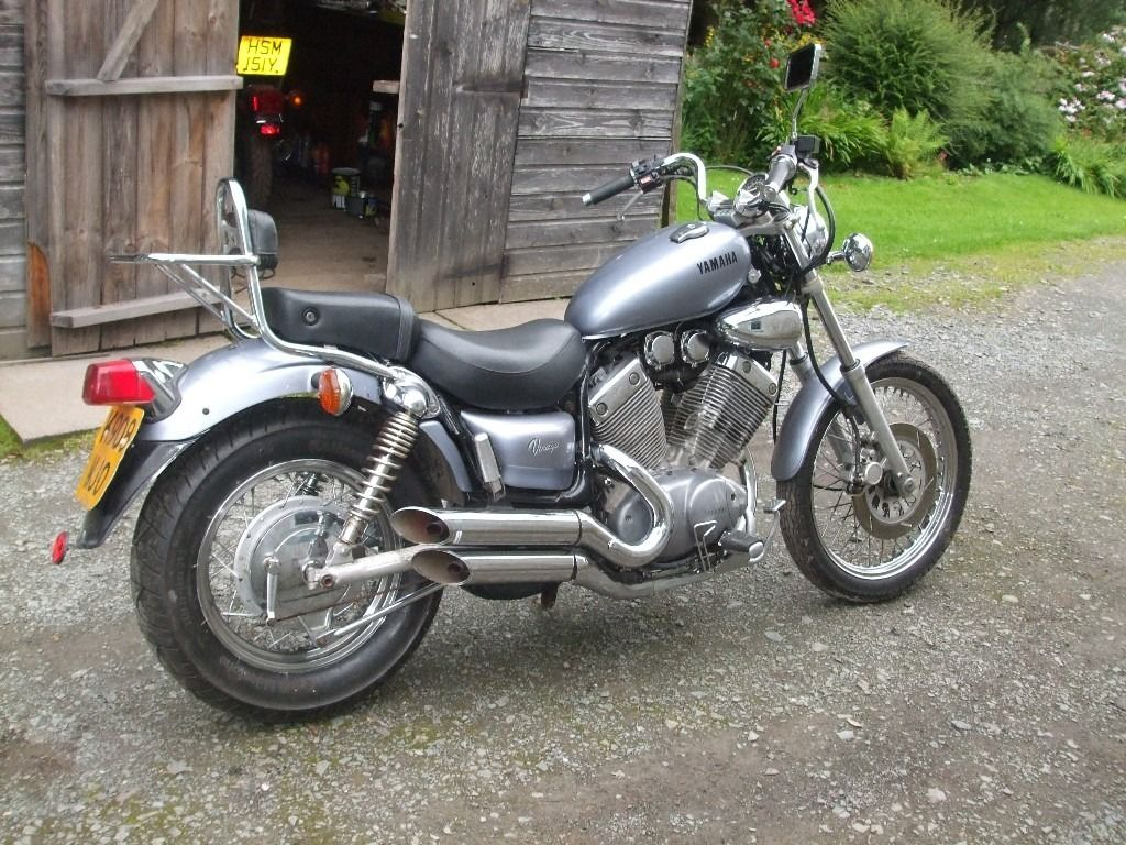 Yamaha Virago XV535 low miles years MOT is Taxed new tyres just had service nice bike