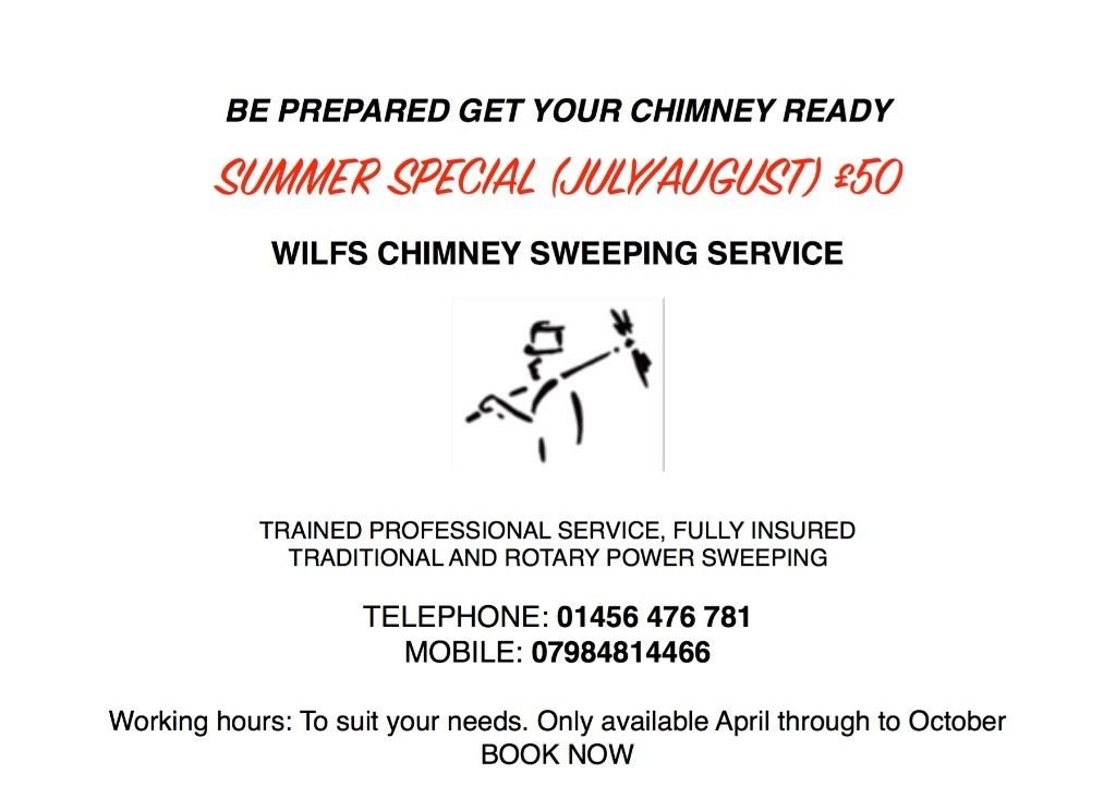 Chimney Sweep - Drumnadrochit Area - *April to October Only*