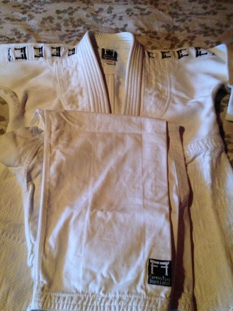 Fighting films judo suits