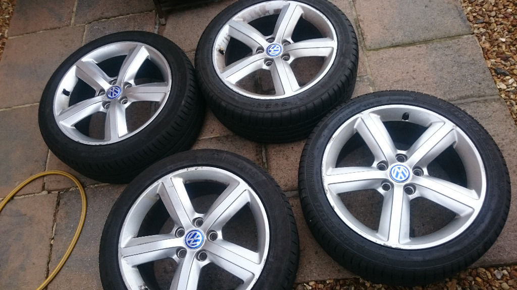 Audi Vw proper alloys 5x112