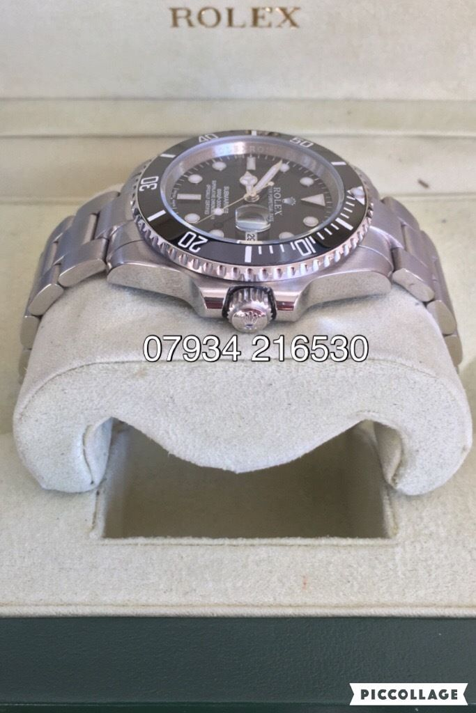 Rolex submariner oyster perpetual date 40mm luxury automatic watch brand new in box oyster