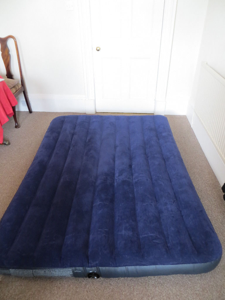 Queen sized inflatable bed - ideal for house guests, or in a large tent