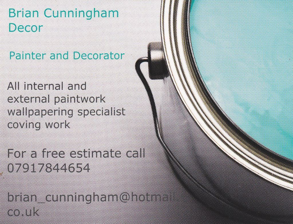 Brian Cunningham Decor Painter & Decorator