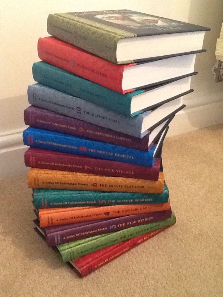"The complete ""Series of Unfortunate Events"" collection by Lemony Snicket. Perfect condition"