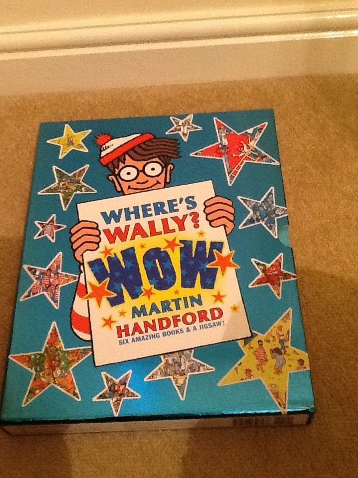 "The complete ""where's Wally? WOW"" collection in original box. 6 books in perfect condition."