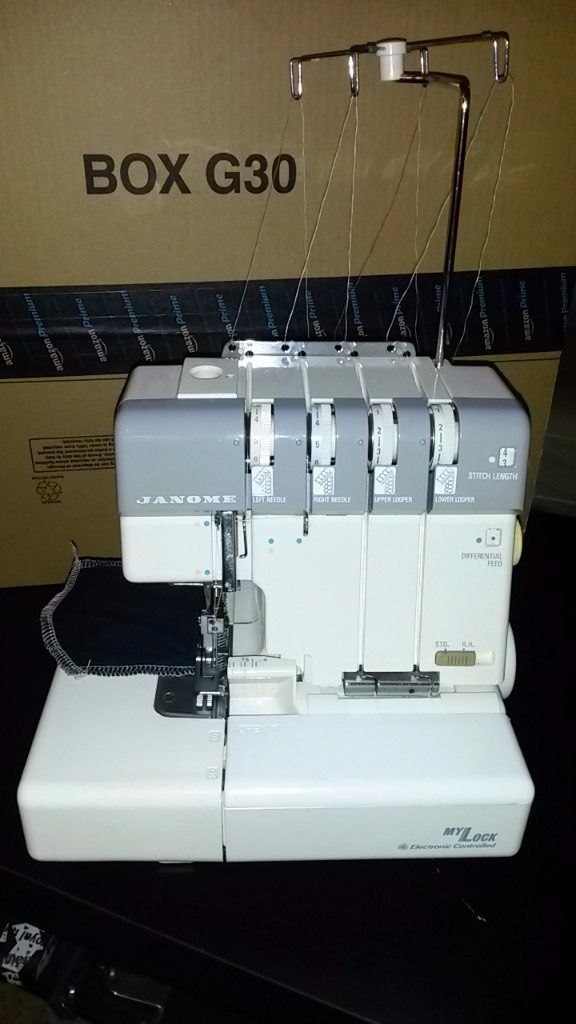 For sale**JANOME 634D OVERLOCKER, SERGER**