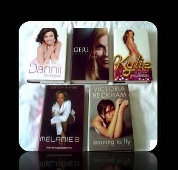 FEMALE SINGER BIOGRAPHIES - HARDCOVER - 5 TITLES - FOR SALE