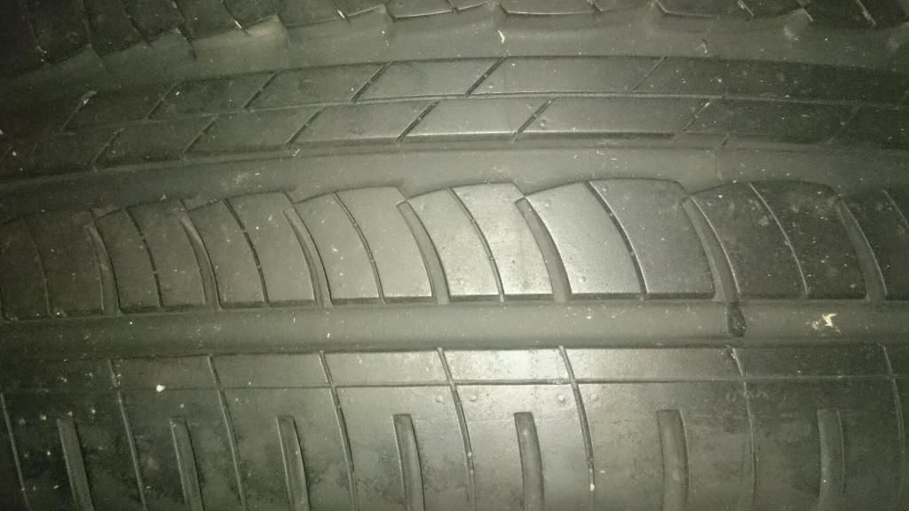 Brand new tyre on wheel 235/60R16