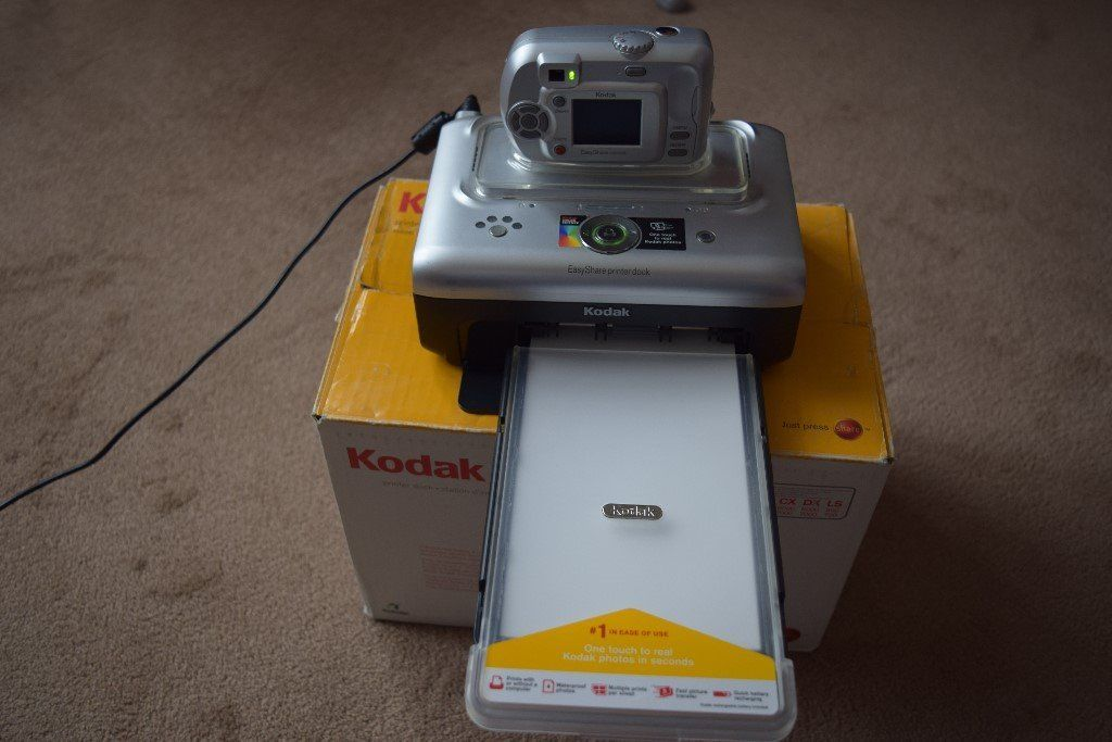 Kodak dock for camera