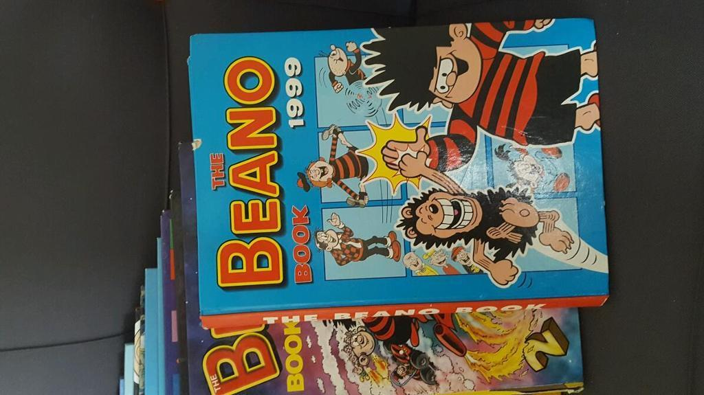 Collection of dandy n beano annuals