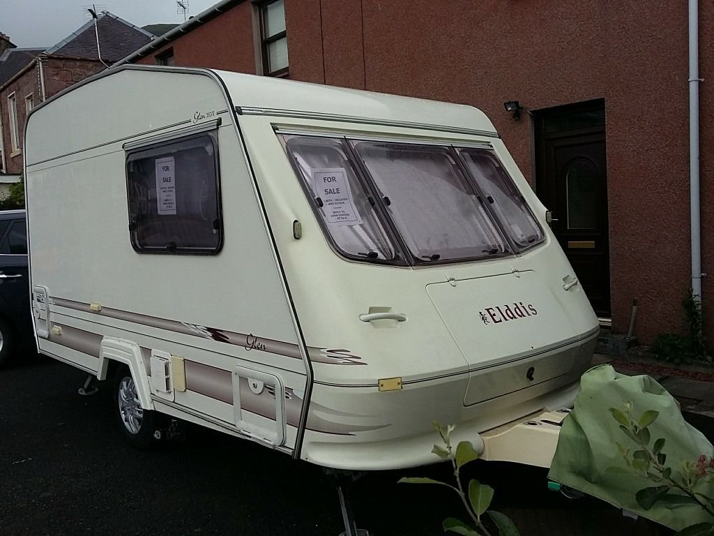 Elldis 2b caravan. Loads of extras inc elec mover full gas bottle. Ex cond must be seen.