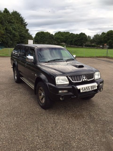 Mitsubishi L200 Warrior 2005 (new engine) Diesel/Veg Oil Conversion
