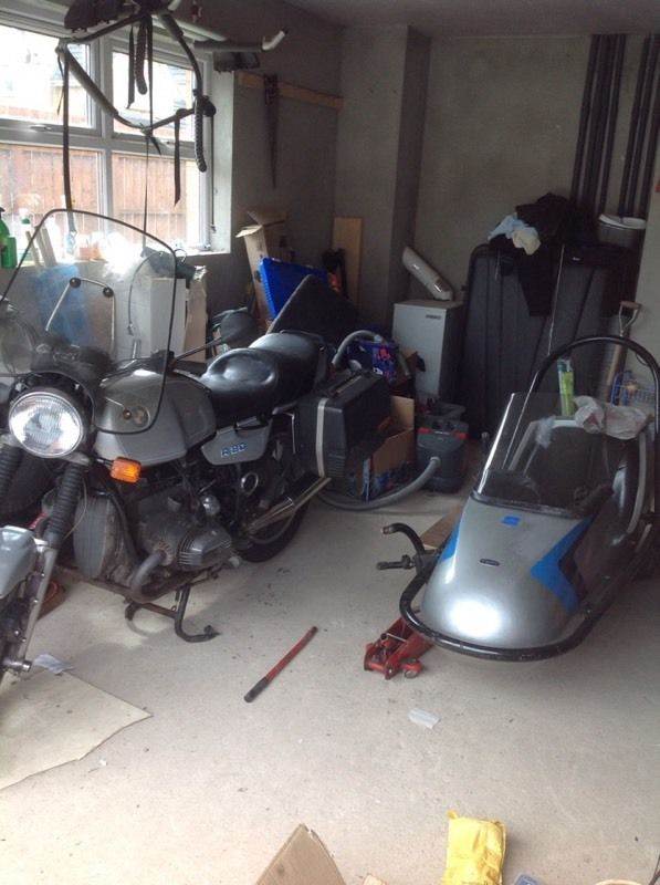 Bmw r80 sidecar outfit parted as was unable to set because I'll health