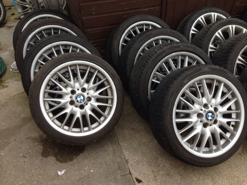 "18"" BMW MV1s MV2s Alloys 5x120"