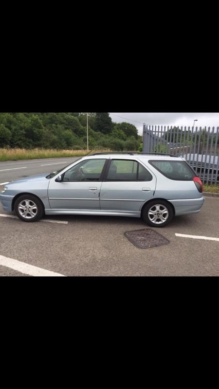 2001 306 L 1.9 diesel alloy wheels