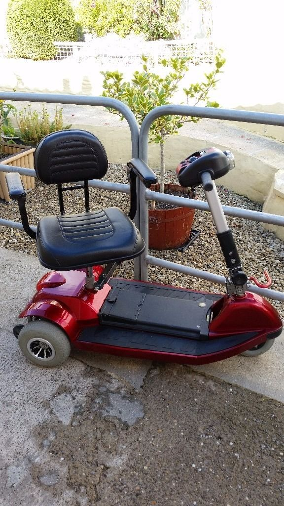 Very sturdy mobility scooter