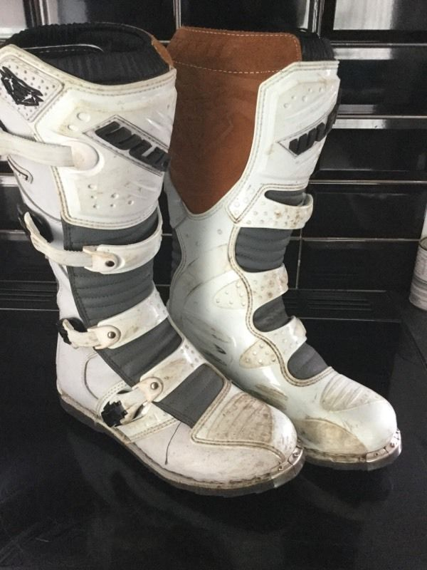 Motorcross boots size 10