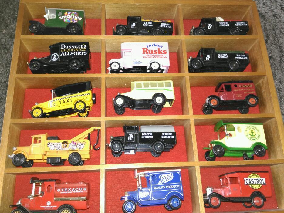 Collection of cars unboxed