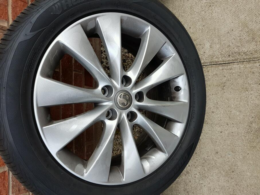 Vauxhall astra alloy wheels 18""