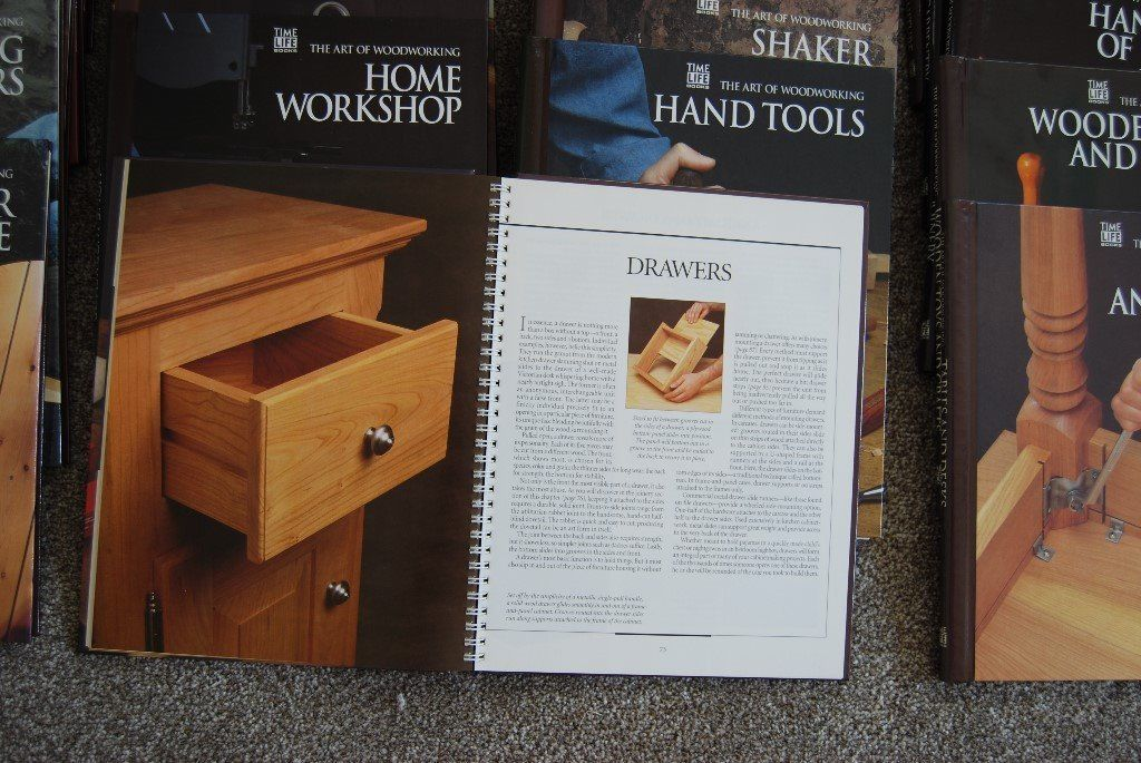 The Art of Woodworking - Time Life 20 books (all spiral bound)