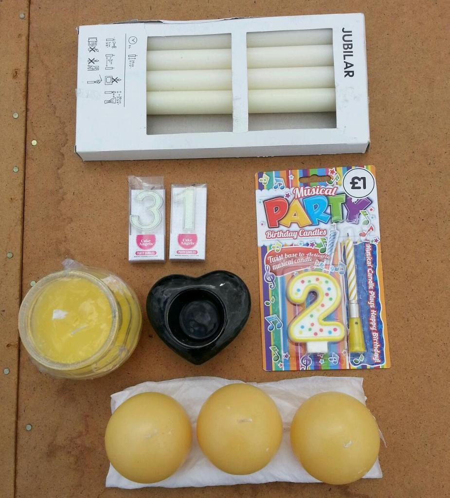 Joblot of Candles for sale.
