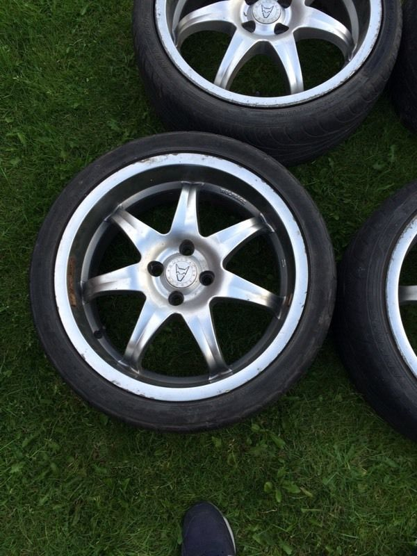 WOLF RACE ALLOY WHEELS 17