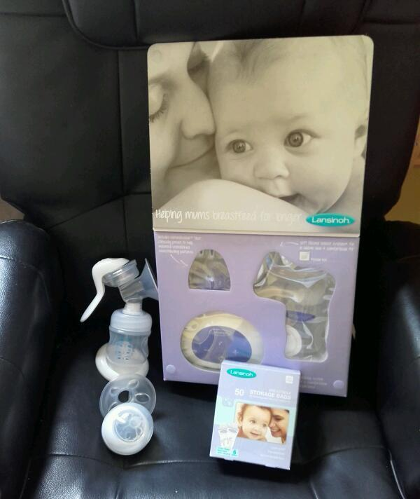 Electric and hand breast pumps