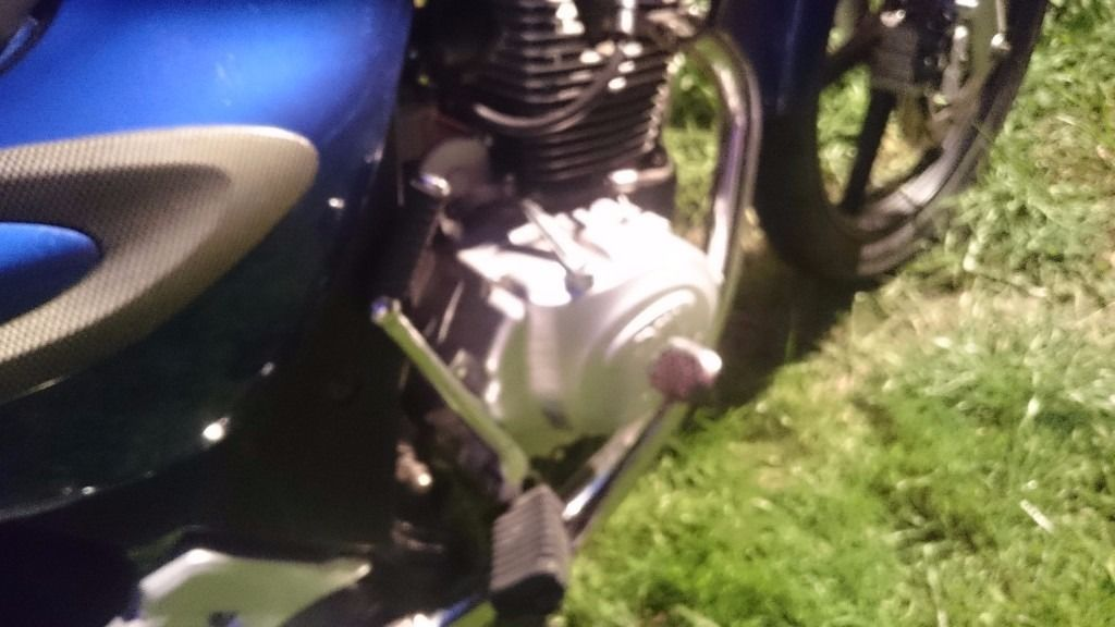 Sym xs 125 swap cash offers anything wuth a engine will be cinsidered