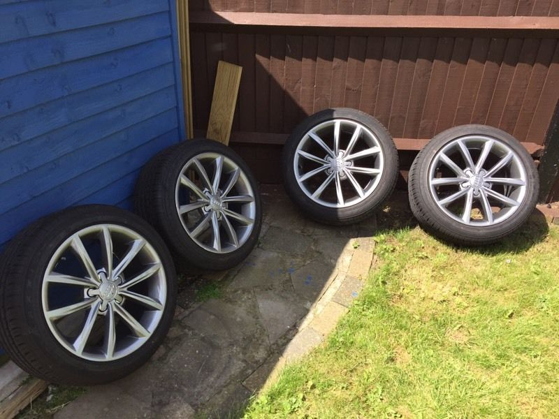 "Audi mk2 TT 17"" Alloy Wheels with new tyres."