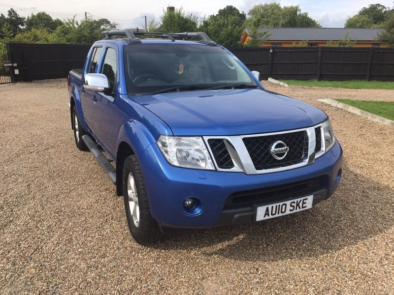 Nissan Navara Tenka 2010 6 speed manual full leather no vat !!!!
