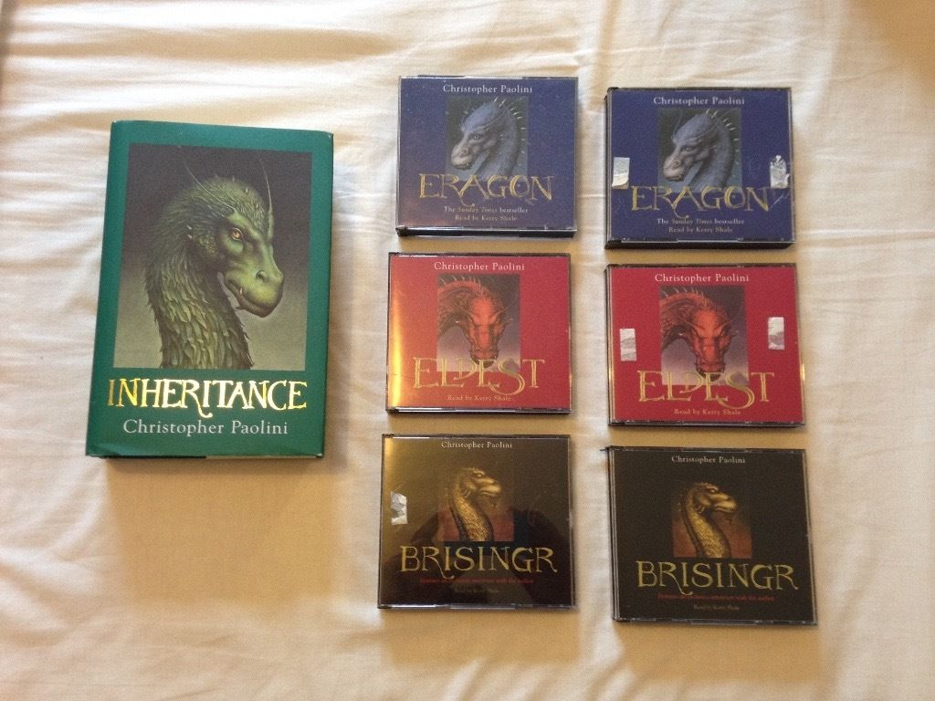 Inheritance Series By Christopher Paolini