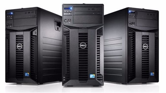 Dell Poweredge T310 tower server, 4GB RAM, Intel Xeon X3460 2.8Ghz, DVD, 3x256GB, RAID PERC