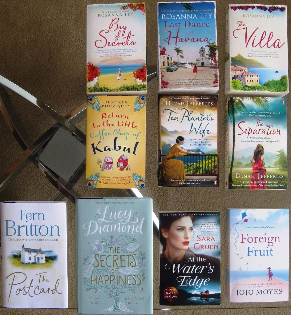 Collection of 10 Books (Chick Lit)