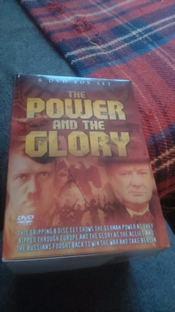 """8 DVD Box Set of """"The Power and the Glory"""""""