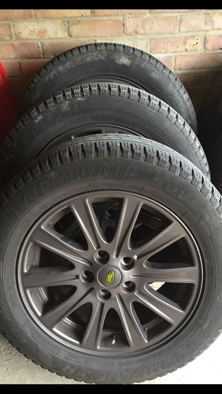 Genuine Range Rover Wheels