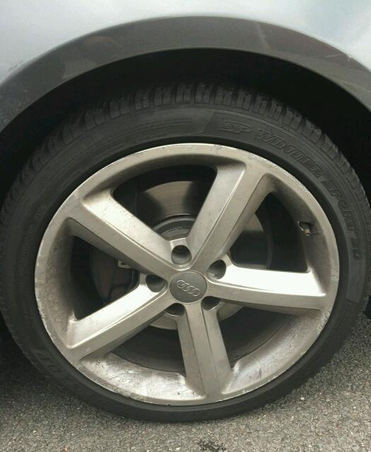 A5 geniuine s line 18 inch alloys with tyres