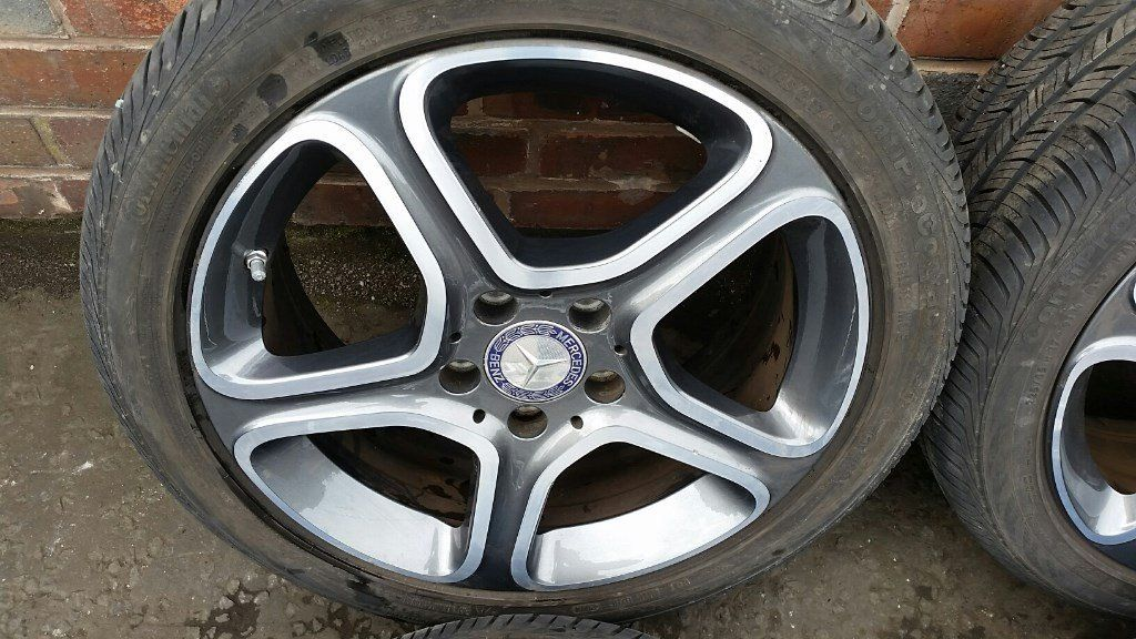 MERCEDES CLA 2012 SET OF ALLOY RIMS & TYRES (#61)